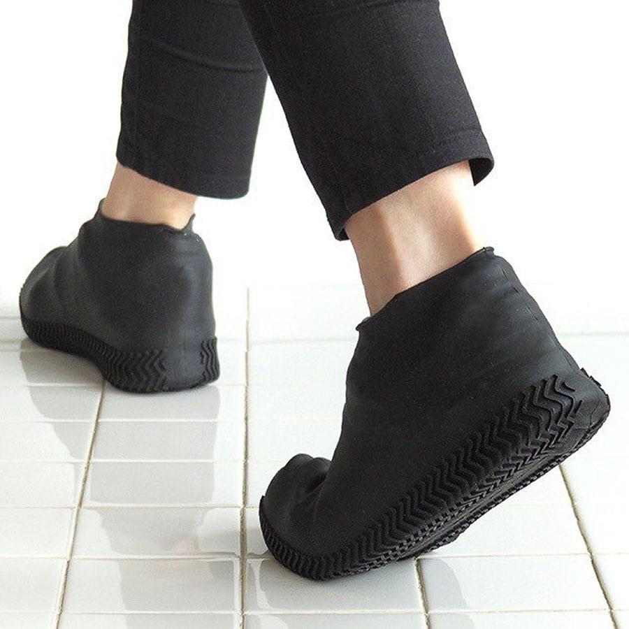 即套即用雨鞋.防滑耐磨加厚矽膠鞋套