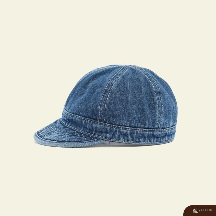 卷邊軟頂牛仔短簷鴨舌帽,,,G7050004,卷邊軟頂牛仔短簷鴨舌帽,