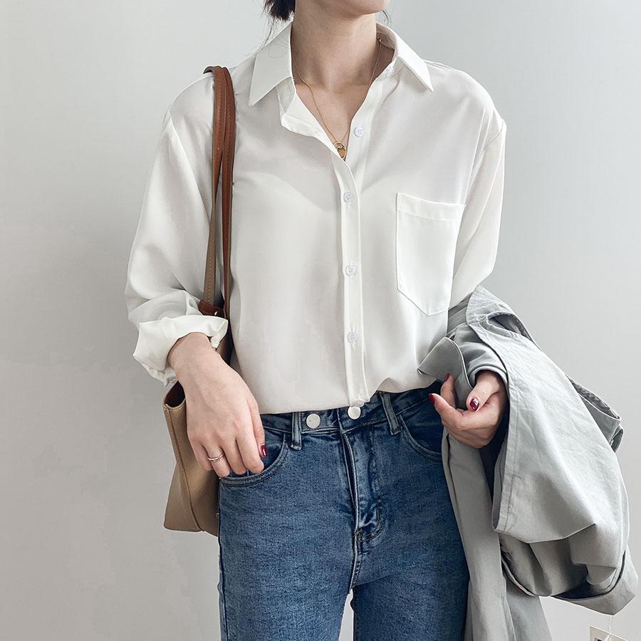 經典絲滑抗皺質感長袖襯衫,,,K1030054,經典絲滑抗皺質感長袖襯衫,