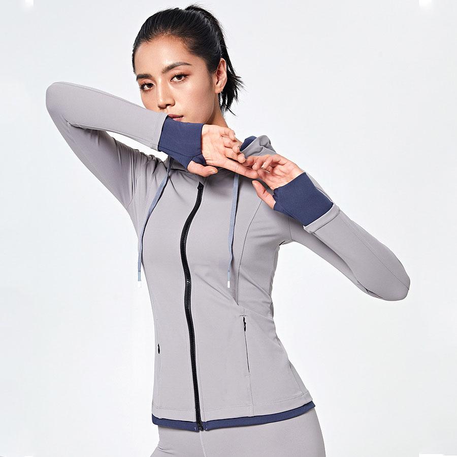 拼接透氣合身長袖健身運動外套,,,K2010019,拼接透氣合身長袖健身運動外套,