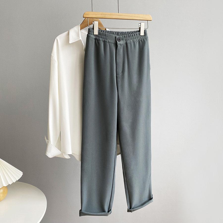 基本百搭休閒感西裝褲.3色,,,K3020037,基本百搭休閒感西裝褲.3色,
