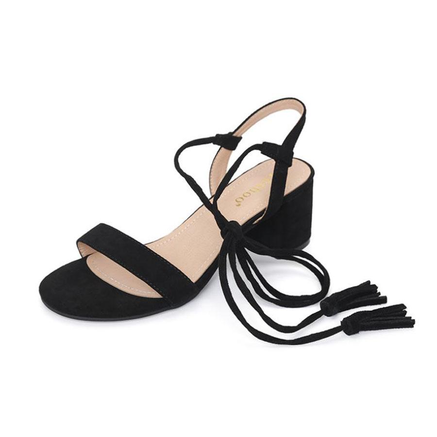優雅繞帶粗跟涼鞋.3色,,,K6010002,優雅繞帶粗跟涼鞋.3色,