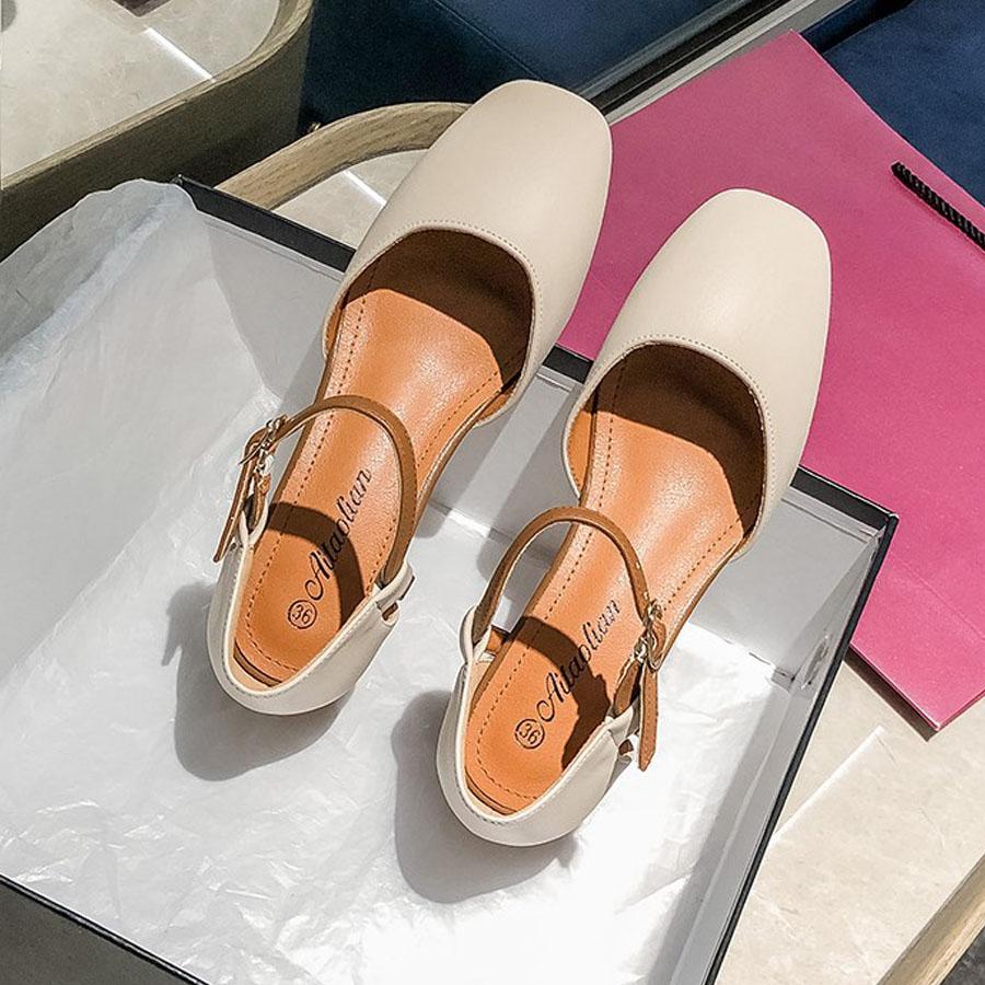 經典瑪麗珍小方頭跟鞋.有大碼.2色,,,K6010005,經典瑪麗珍小方頭跟鞋.有大碼.2色,