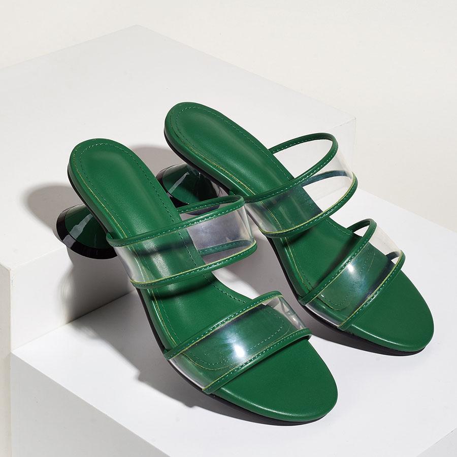 雙包邊透明低跟涼拖鞋4.5cm,,,K6010056,雙包邊透明低跟涼拖鞋4.5cm,