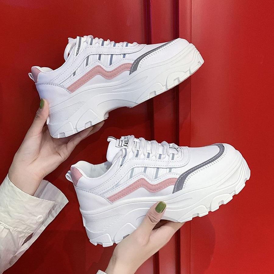反光增高百搭厚底運動鞋,,,K6020006,反光增高百搭厚底運動鞋,