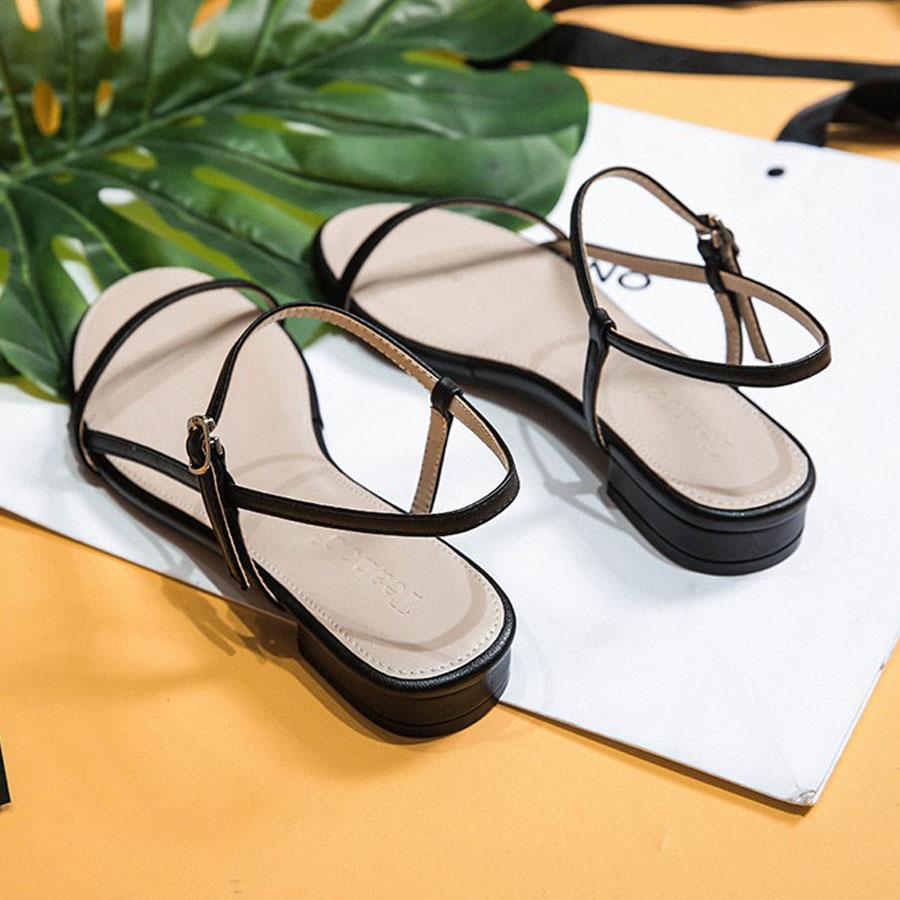 韓版平底.一字綁低跟涼鞋,,,K6020021,韓版平底.一字綁低跟涼鞋,