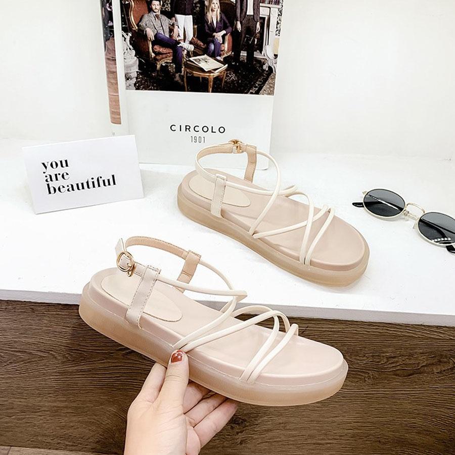 厚底細綁帶羅馬涼鞋,,,K6020023,厚底細綁帶羅馬涼鞋,