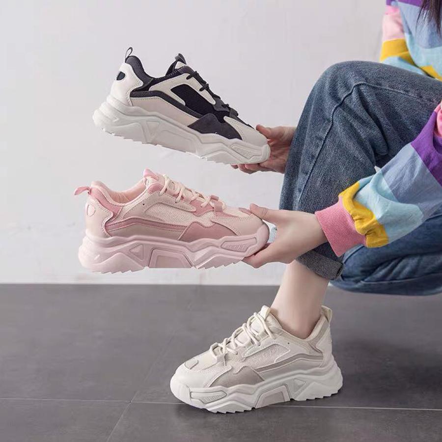 熱銷款撞色經典老爹運動鞋.3色