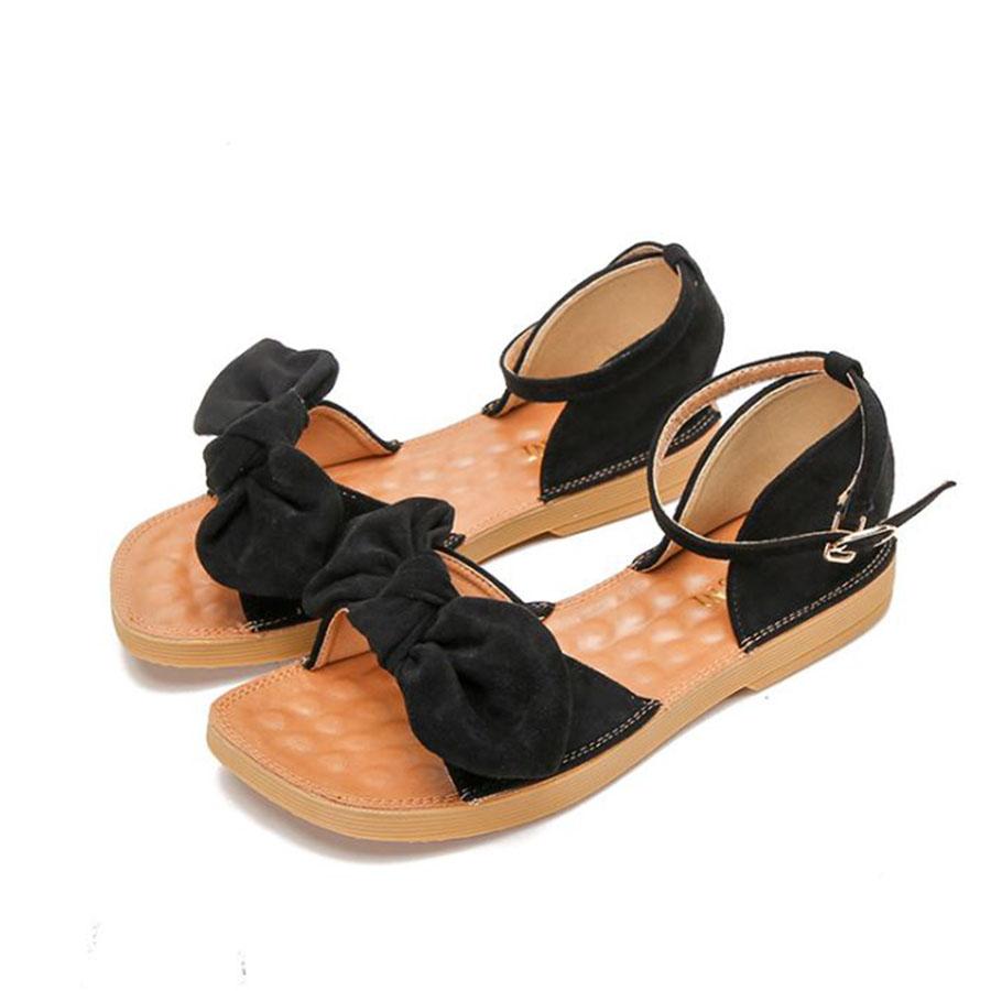 舒適感一字蝴蝶結涼鞋.有大碼.3色,,,K6020087,舒適感一字蝴蝶結涼鞋.有大碼.3色,