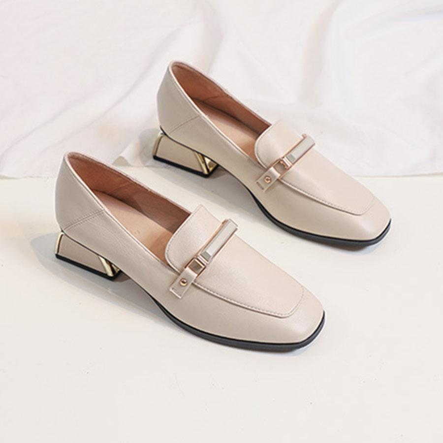 英倫粗跟方頭通勤皮鞋.2色,,,K6020112,英倫粗跟方頭通勤皮鞋.2色,