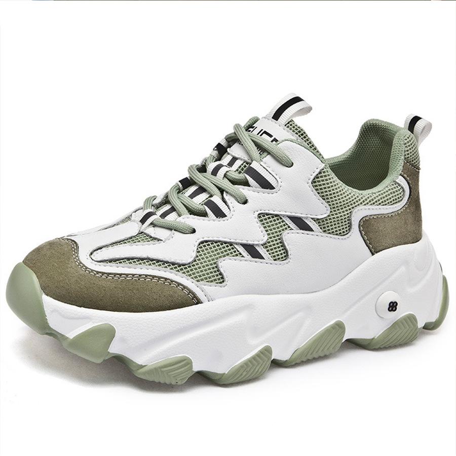 厚底波浪.透氣運動風老爹鞋,,,K6020120,厚底波浪.透氣運動風老爹鞋,
