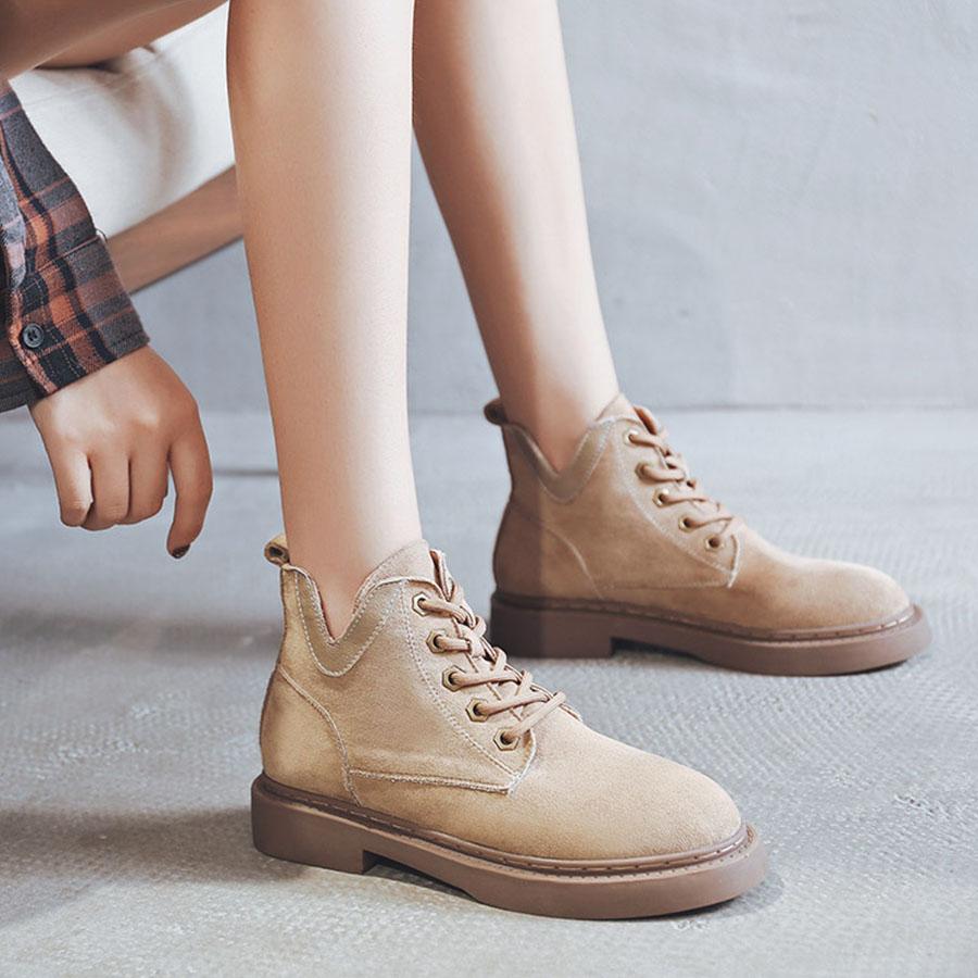 絨面系帶低筒靴.有大碼.35~43,,,K6030005,絨面系帶低筒靴.有大碼.35~43,