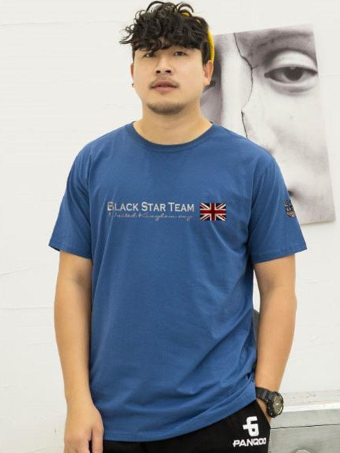 大尺碼.英國國旗英字短袖T恤,,,L1010016,大尺碼.英國國旗英字短袖T恤,