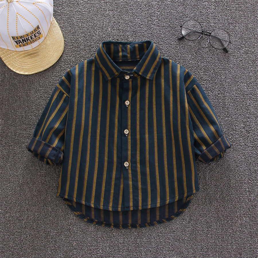 紳士寶寶.黃綠條紋長袖襯衫.童裝,,,Y1020026,紳士寶寶.黃綠條紋長袖襯衫.童裝,