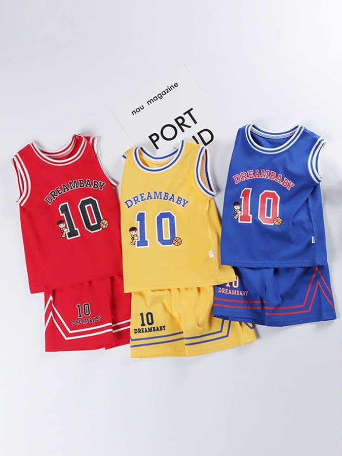 套裝.籃球運動背心兒童球衣兩件組.童裝
