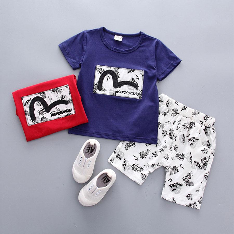 套裝.植物樹葉印花短袖兩件組.童裝,,,Y1040226,套裝.植物樹葉印花短袖兩件組.童裝,