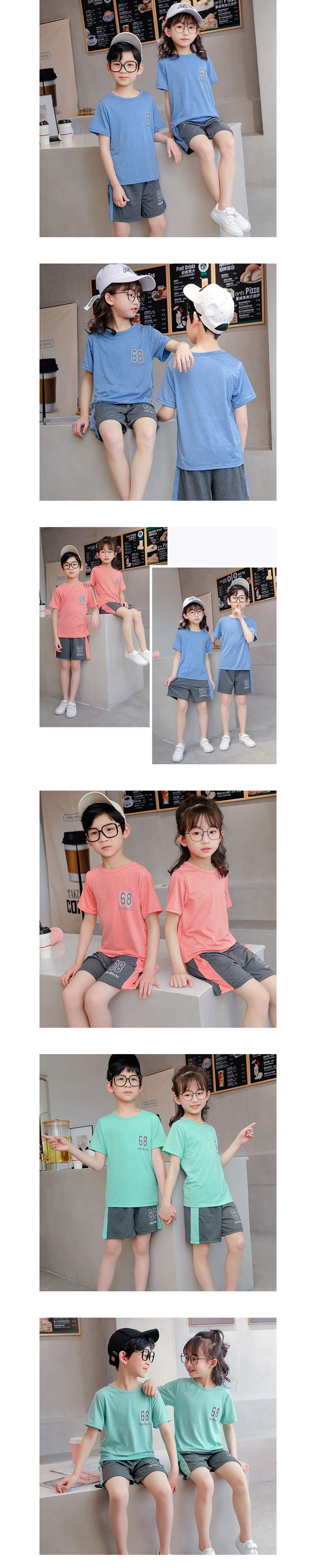 套裝.兒童運動吸濕排汗速乾兩件組.童裝