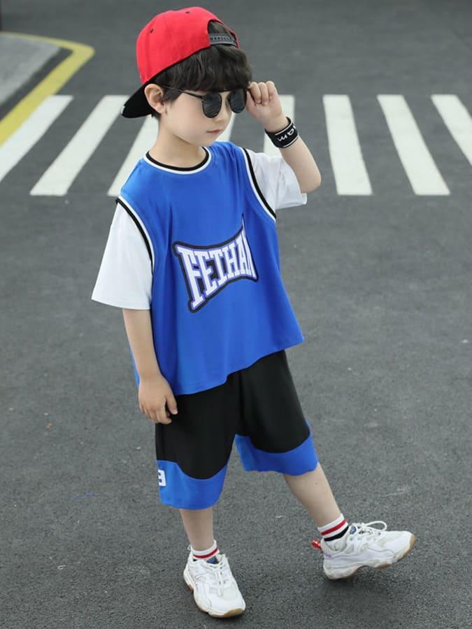 套裝.兒童寬鬆短袖籃球服兩件組.童裝,,,Y1040238,套裝.兒童寬鬆短袖籃球服兩件組.童裝,