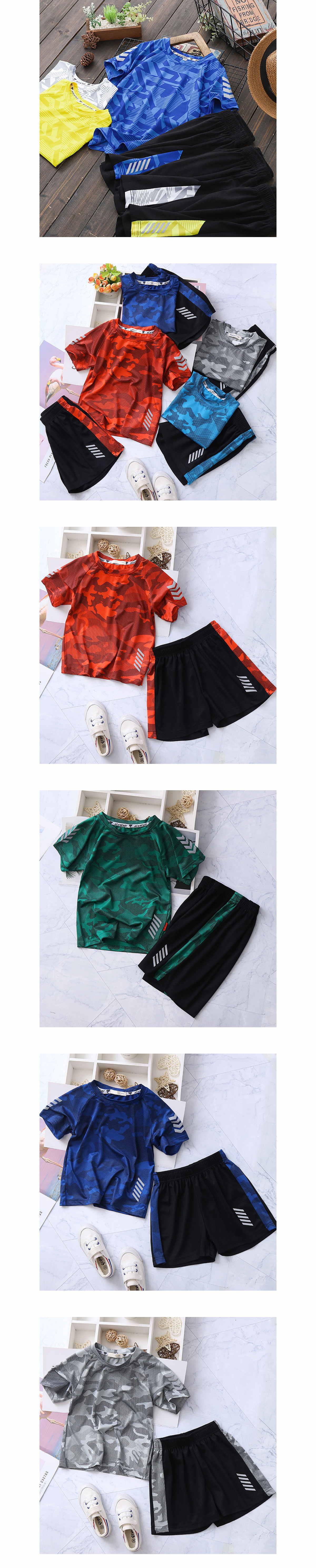 套裝.大廠等級布料.迷彩透氣兩件組.童裝