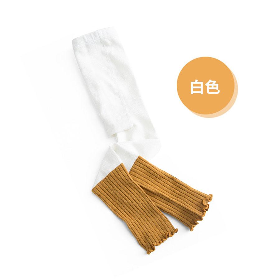 木耳捲邊兩色兒童打底褲襪.童裝,,,Y2010074,木耳捲邊兩色兒童打底褲襪.童裝,