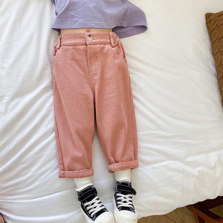 兒童韓版梭織斜紋布鬆緊長褲.童裝,,,Y2010100,兒童韓版梭織斜紋布鬆緊長褲.童裝,