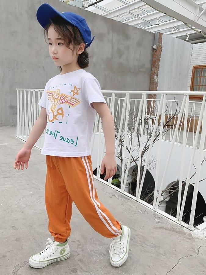 兒童防蚊褲.純色柔軟透氣童休閒長褲.童裝
