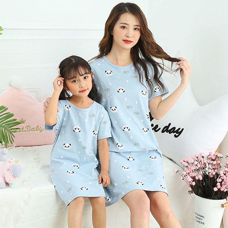 親子裝.兒童睡裙短袖居家服.童裝,,,Y2040077,親子裝.兒童睡裙短袖居家服.童裝,