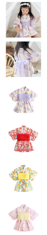 兒童日系浴衣.和服滿版印花.童裝
