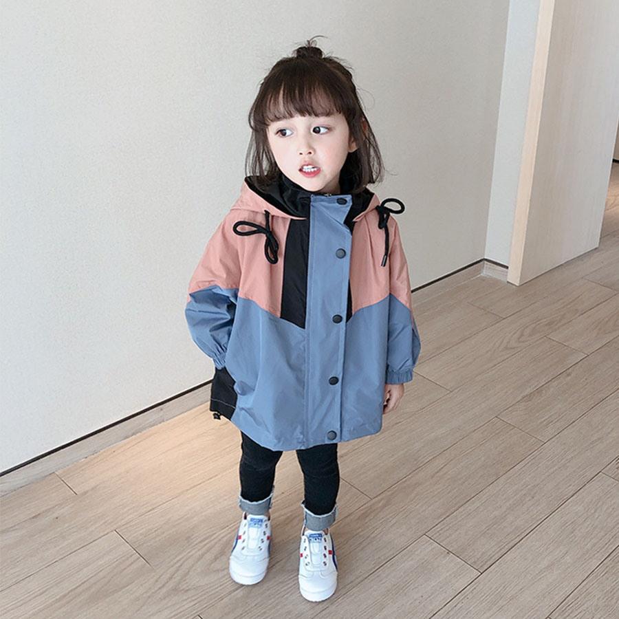 韓版拼接兒童連帽衝鋒外套.童裝,,,Y3020026,韓版拼接兒童連帽衝鋒外套.童裝,