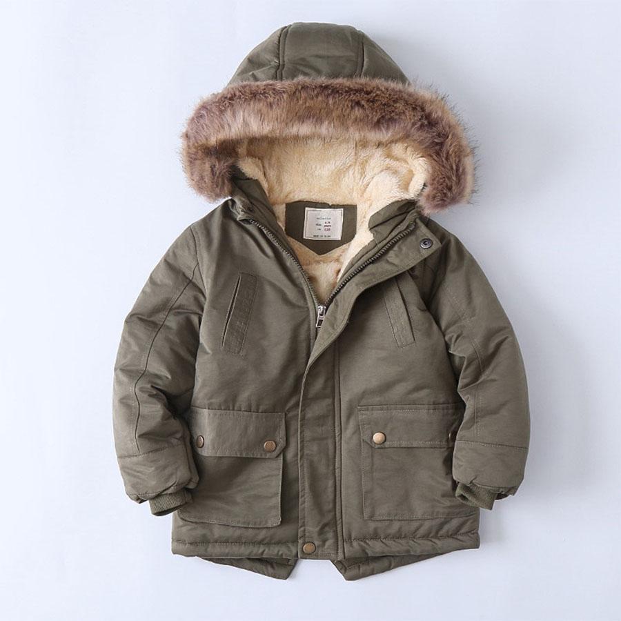 毛領內刷毛袖束口兒童長版連帽外套.童裝,,,Y3020050,毛領內刷毛袖束口兒童長版連帽外套.童裝,
