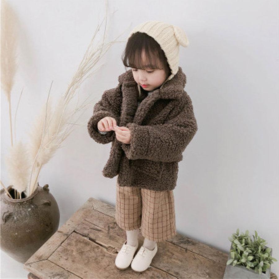 兒童保暖絨毛翻領大口袋羊羔毛大衣.童裝,,,Y3020087,兒童保暖絨毛翻領大口袋羊羔毛大衣.童裝,