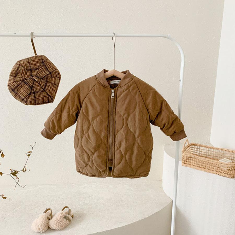 兒童加厚夾棉保暖棒球領長版外套.童裝,,,Y3020090,兒童加厚夾棉保暖棒球領長版外套.童裝,