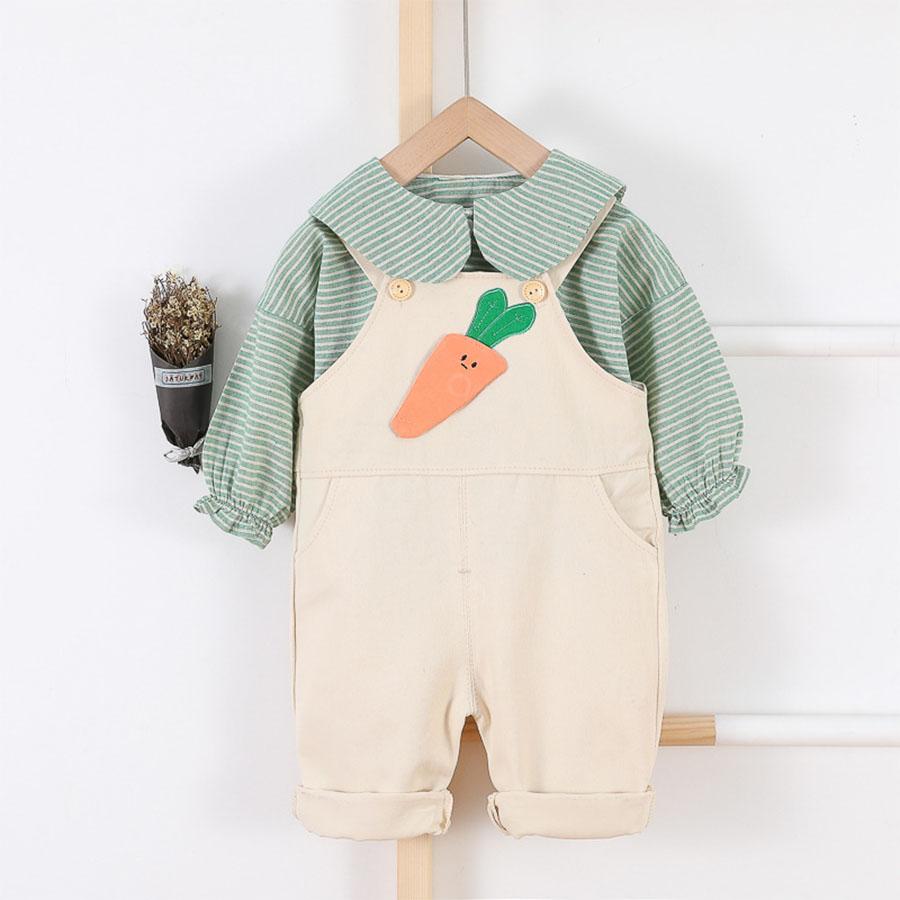 套裝.兔耳朵胡蘿蔔背帶褲兩件組.童裝,,,Y3040006,套裝.兔耳朵胡蘿蔔背帶褲兩件組.童裝,