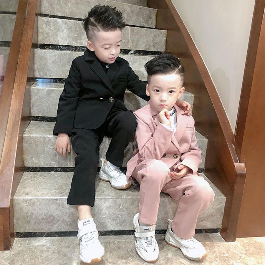 套裝.兒童西服演出服韓版花童禮服兩件套.童裝