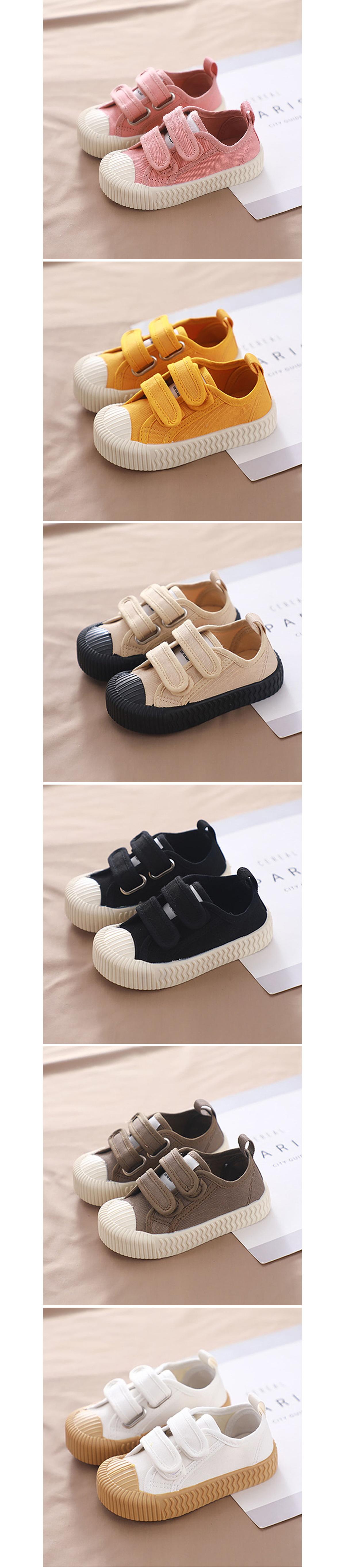 韓國兒童餅乾鞋.軟底休閒帆布鞋.童裝