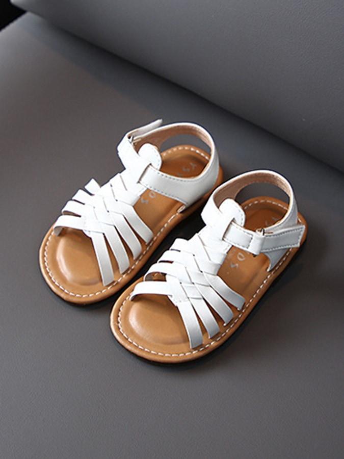 童鞋.韓版編織皮革涼鞋.童裝,,,Y4010070,童鞋.韓版編織皮革涼鞋.童裝,
