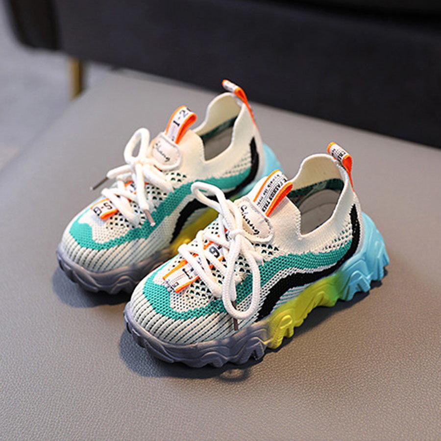 童鞋.飛織彩色透氣布織面運動鞋.童裝,,,Y4010108,童鞋.飛織彩色透氣布織面運動鞋.童裝,