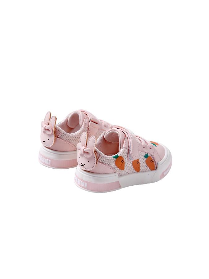 童鞋.小白兔紅蘿蔔平底板鞋.童裝