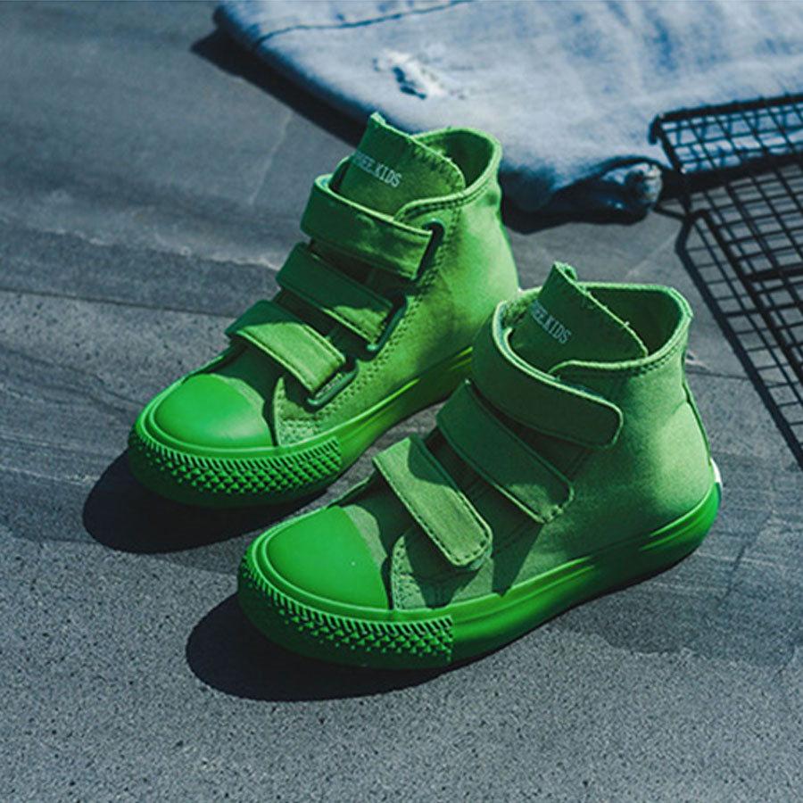 童鞋.高筒魔鬼氈糖果色帆布鞋.童裝,,,Y4010183,童鞋.高筒魔鬼氈糖果色帆布鞋.童裝,