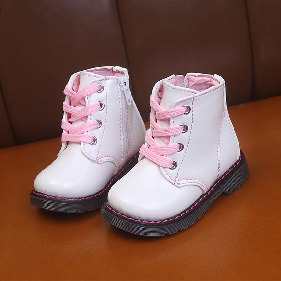 童鞋.兒童防水亮面側拉鍊馬丁靴,,,Y4010210,童鞋.兒童防水亮面側拉鍊馬丁靴,