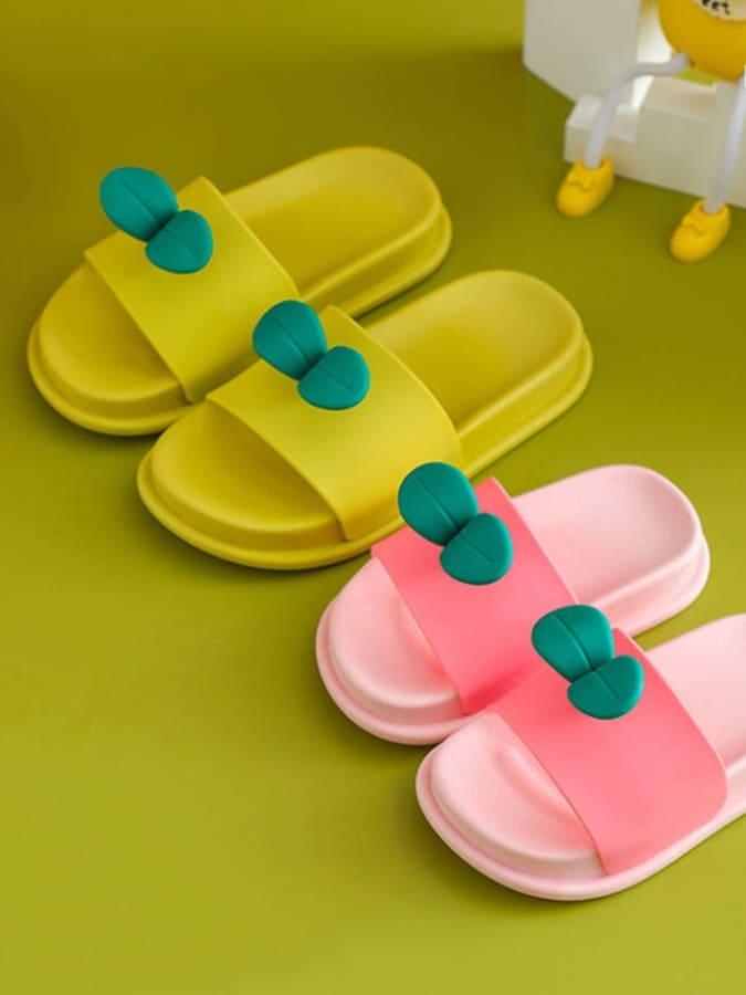 童鞋.立體小樹苗兒童拖鞋.童裝,,,Y4040012,童鞋.立體小樹苗兒童拖鞋.童裝,