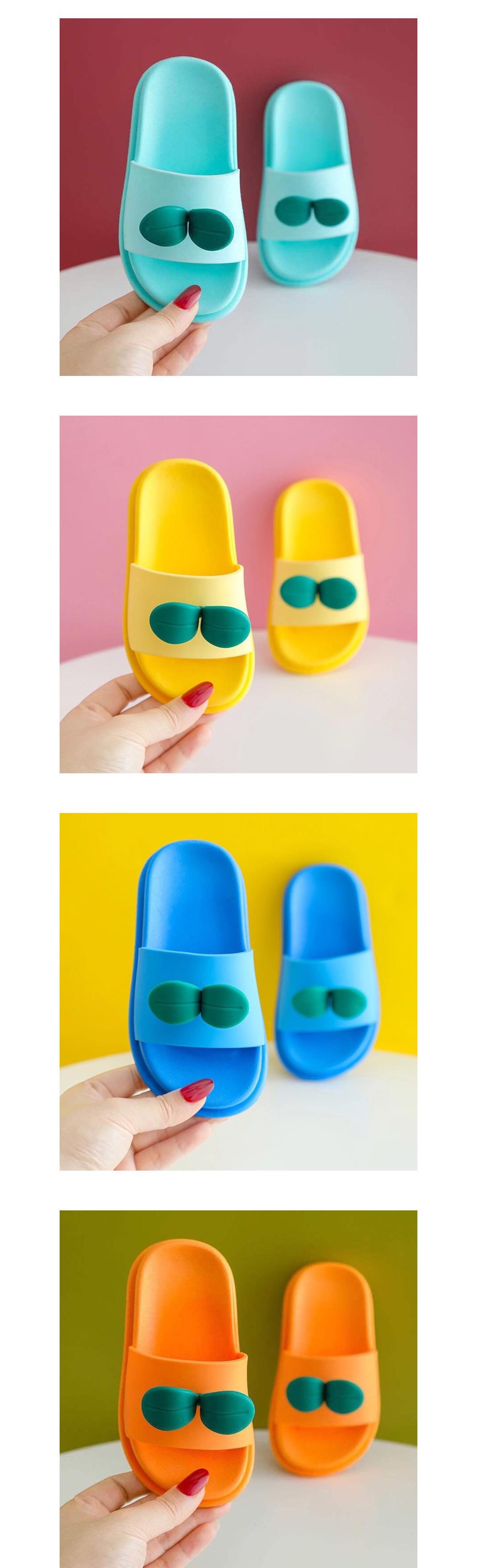 童鞋.立體小樹苗兒童拖鞋.童裝