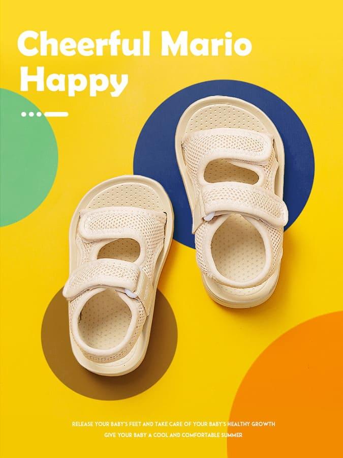 童鞋.兒童透氣排汗軟底防滑沙灘涼鞋.童裝