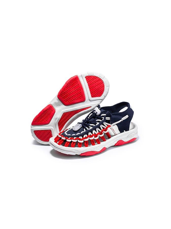 中大童編織沙灘羅馬涼鞋.童裝,,,Y4040017,中大童編織沙灘羅馬涼鞋.童裝,