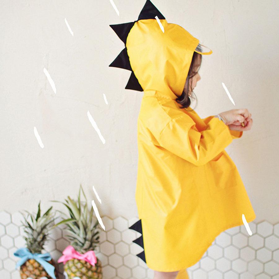 兒童小恐龍亮色系造型雨衣.童裝