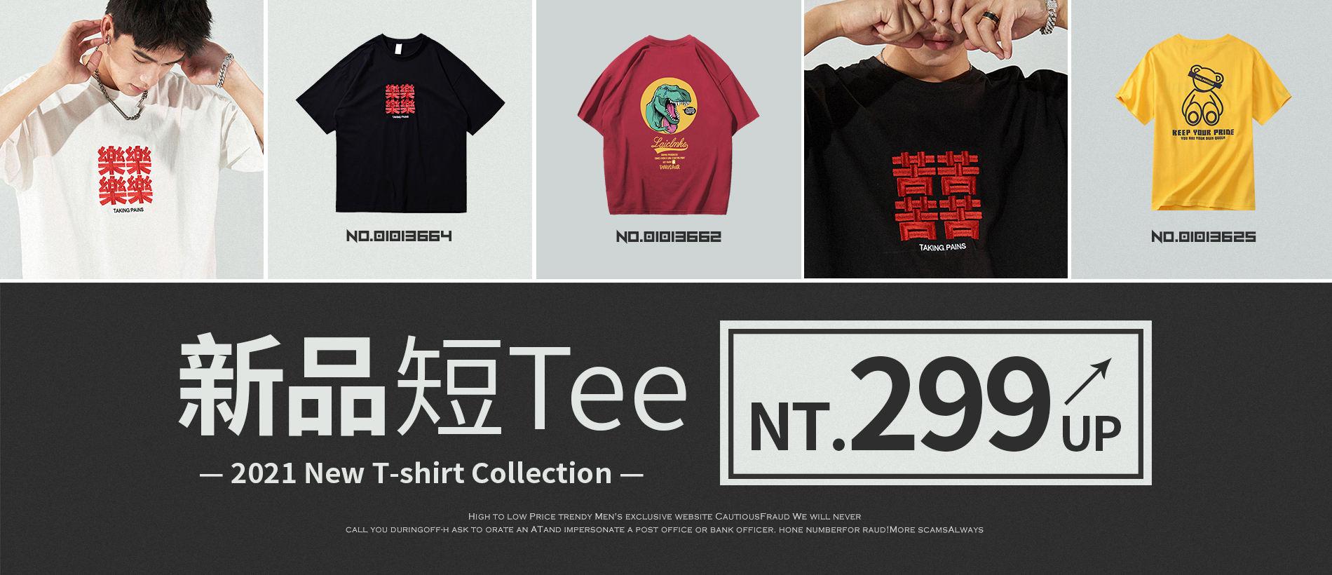 新品短Tee NT.299up